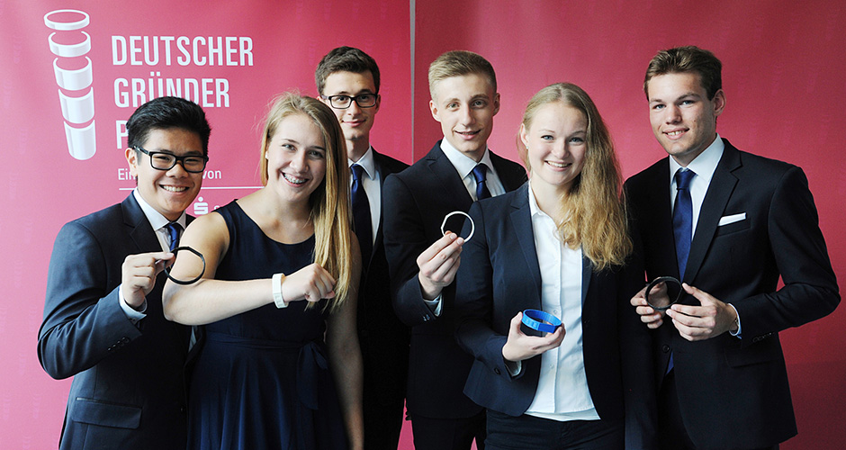 Ermutigung für junge Gründer - Bericht an die Gesellschaft 2015 |  Naspa 2015