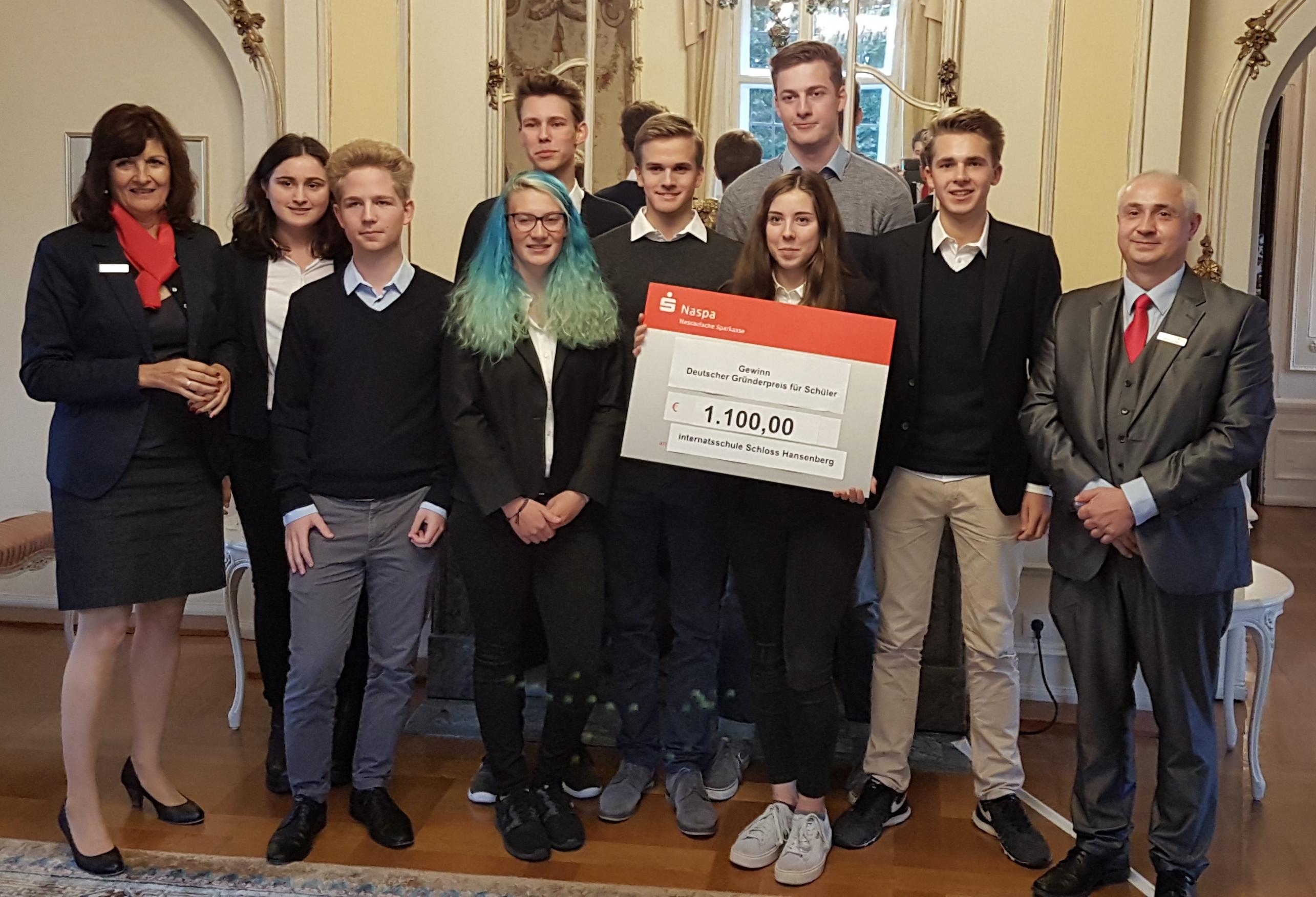 Großer Erfolg für hessische Teams beim Deutschen Gründerpreis für Schüler